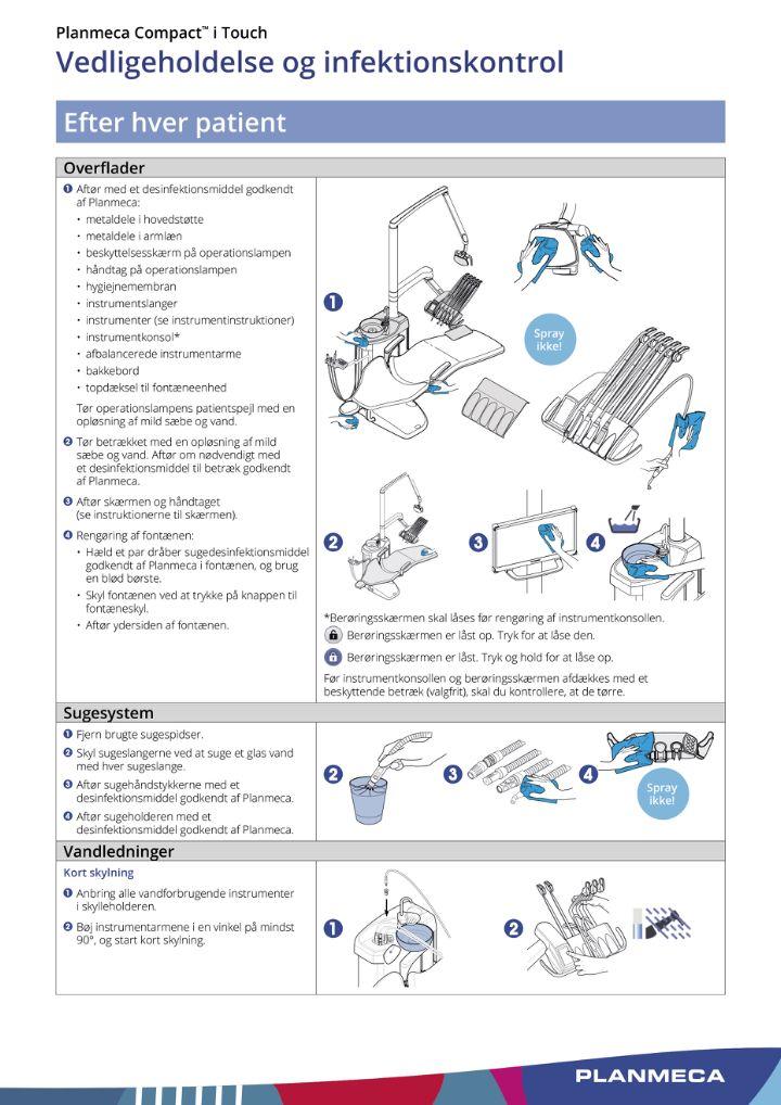 Planmeca Compact i Touch tandlægeunit